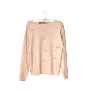 Pistache Italy   Pink Star Sweater